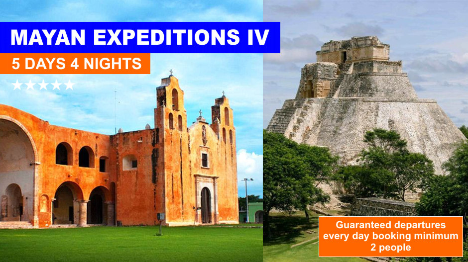 Mayan Tours 5 days From Cancun