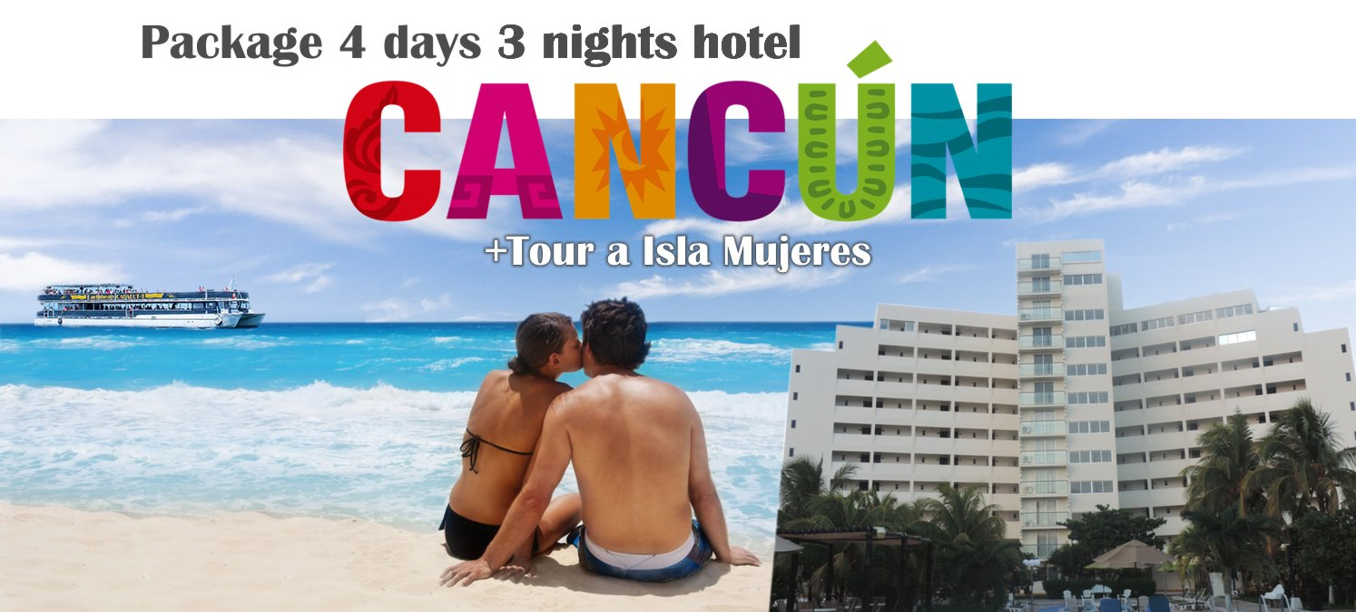 Packages Cancun 4 days