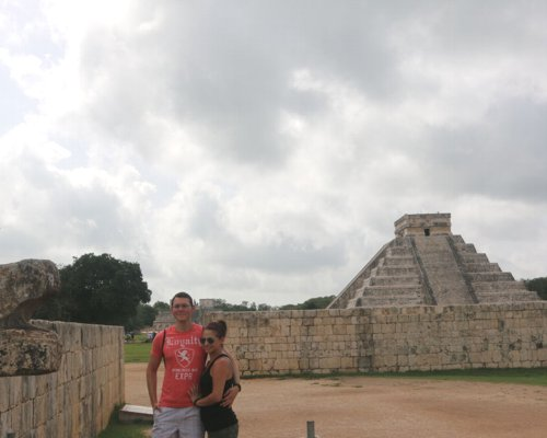 Admire the historical legacy of the Maya Culture