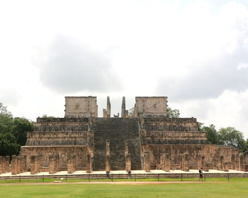 The Temple of Guerrero, Chichen Itza