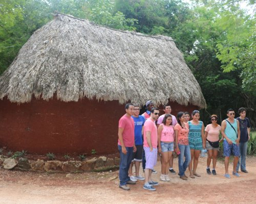 A Mayan Hut, home of our ancestors