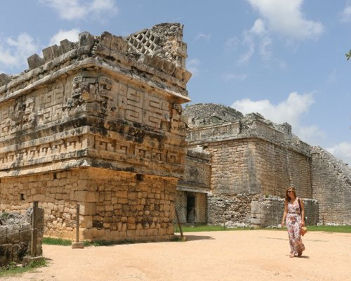 If you are in Merida, Yucatan, Chichen Itza waited on