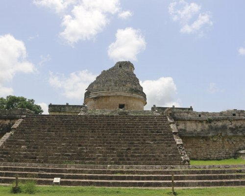 You may know Chichen Itza from Cancun