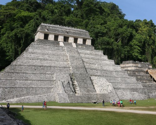 Archaeological site of Palenque, Chiapas